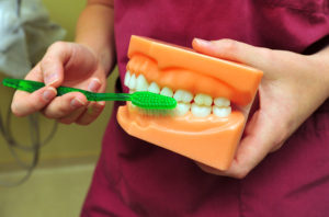 Securing Teeth for Old Folks